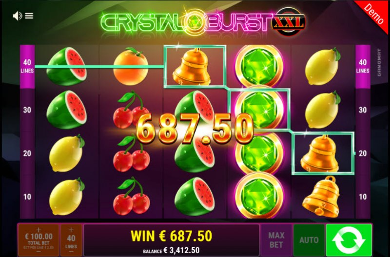 Crystal Burst XXL :: Big Win