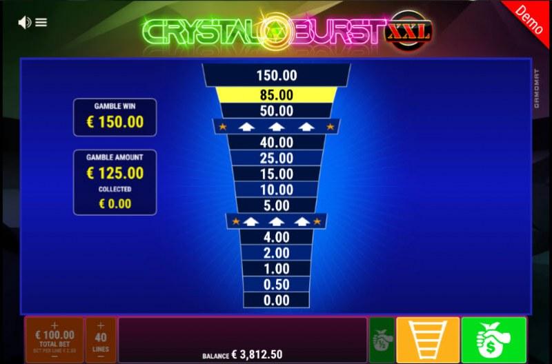 Crystal Burst XXL :: Ladder Gamble Feature