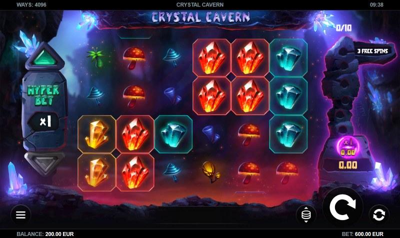 Crystal Cavern :: Main Game Board