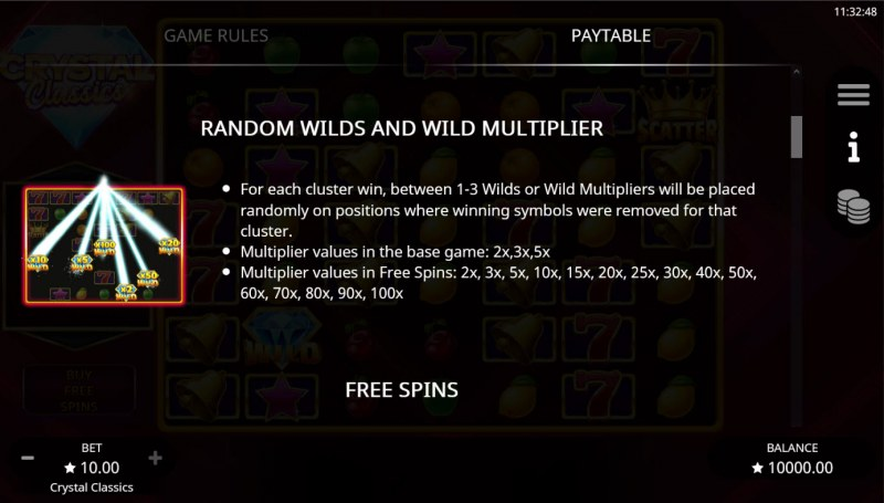 Crystal Classics :: Random Wilds and Wild Multipliers