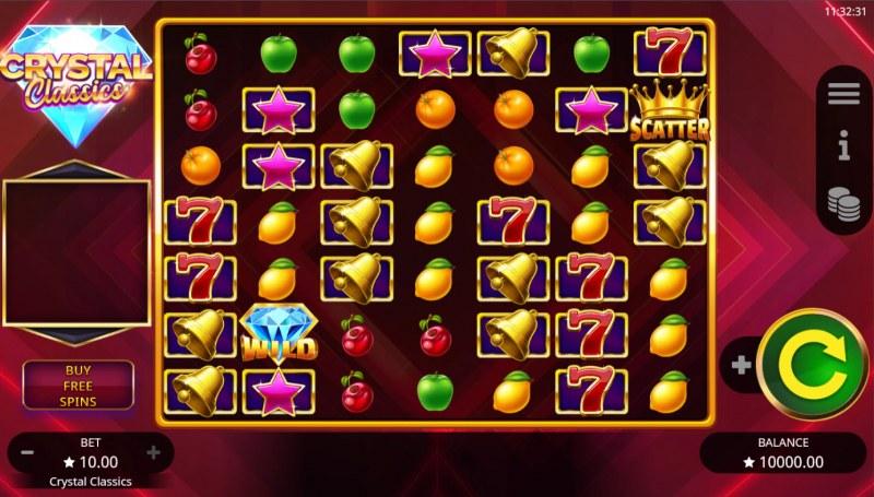 Crystal Classics :: Base Game Screen