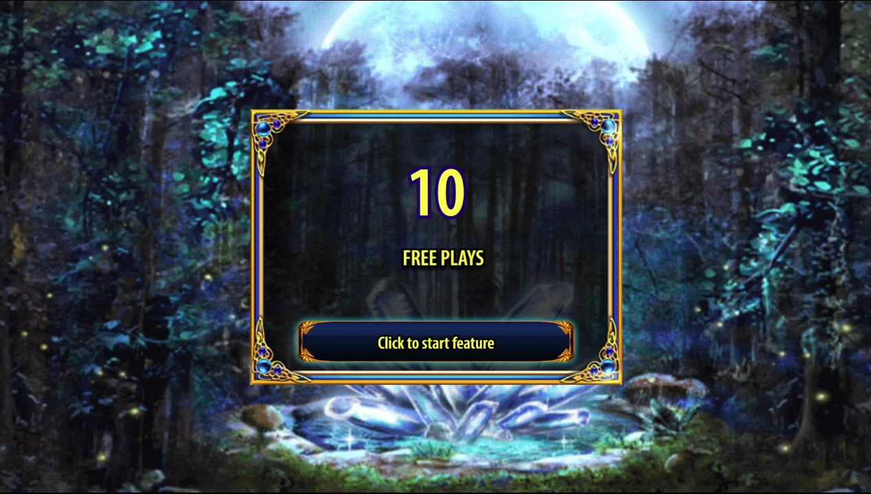 Crystal Forest :: 10 Free Spins Awarded