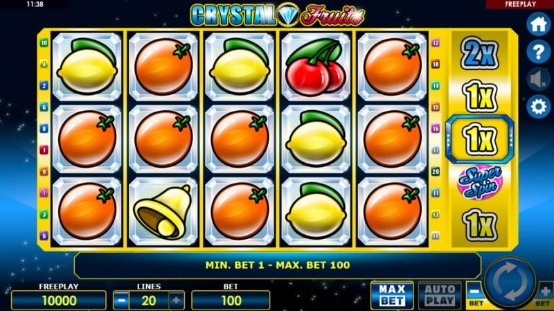 Crystal Fruits :: Main Game Board