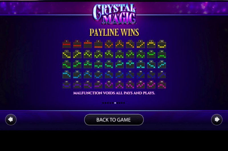 Crystal Magic :: Paylines 1-50