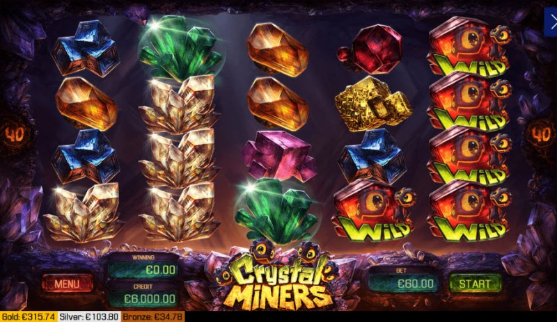 Crystal Miners :: Main Game Board
