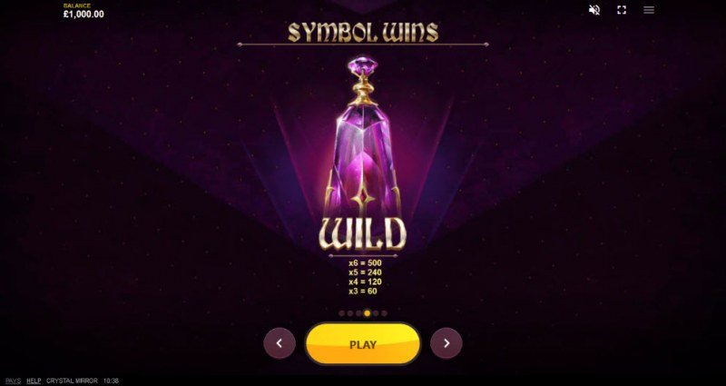Crystal Mirror :: Wild Symbols Rules
