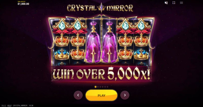 Crystal Mirror :: Win Over 5,000x