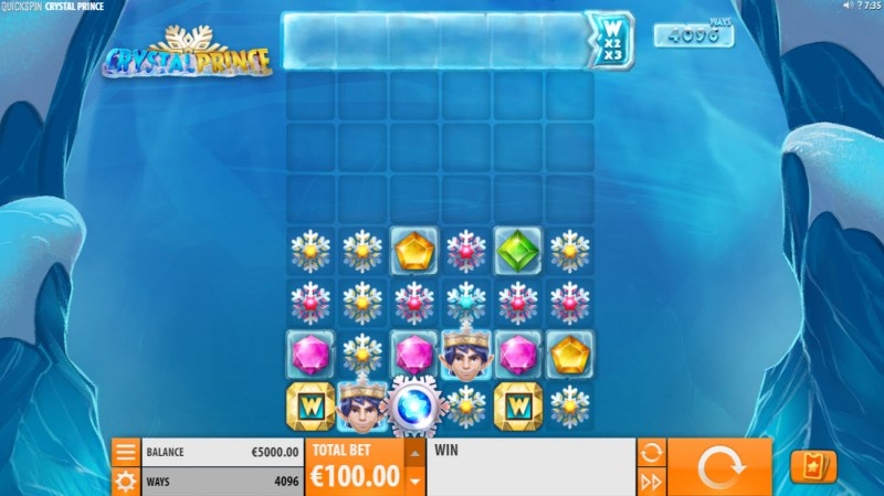 Crystal Prince :: Main Game Board