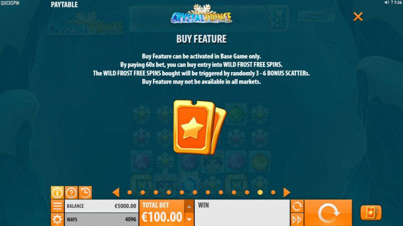 Crystal Prince :: Buy Feature