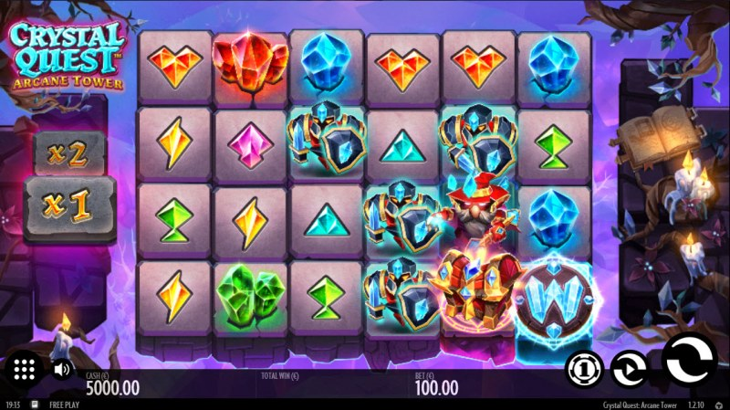 Crystal Quest Arcane Tower :: Main Game Board