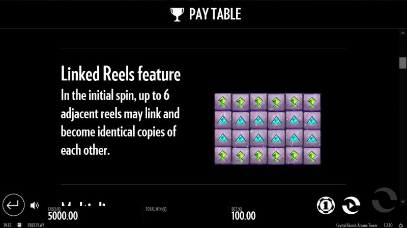 Crystal Quest Arcane Tower :: Linked Reels Feature