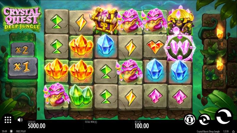 Crystal Quest Deep Jungle :: Main Game Board