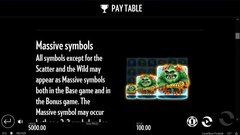 Crystal Quest Frostlands :: Massive Symbols