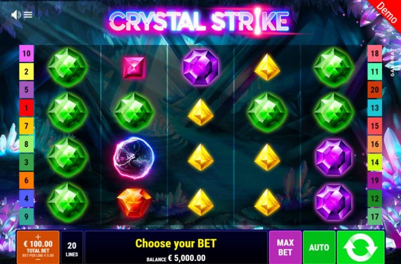 Crystal Strike :: Main Game Board