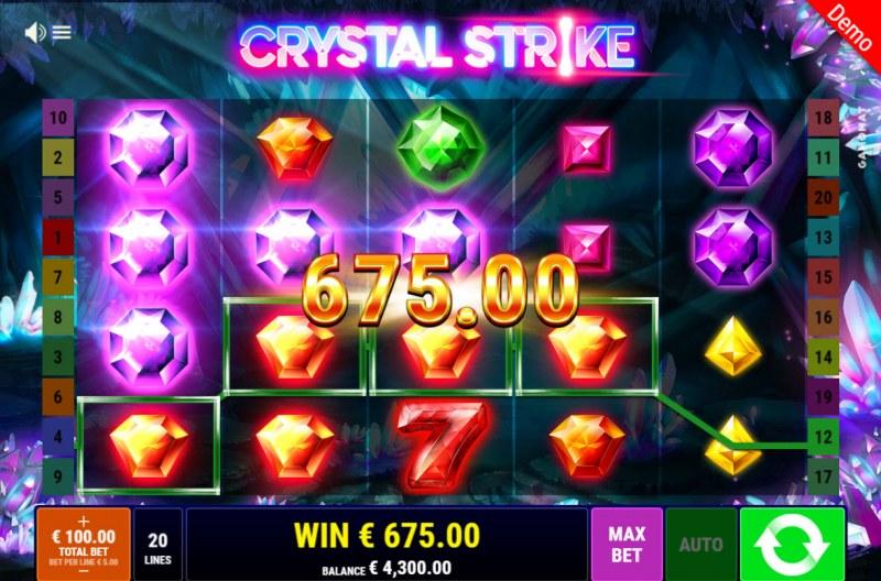 Crystal Strike :: Big Win