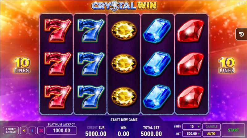Crystal Win :: Main Game Board