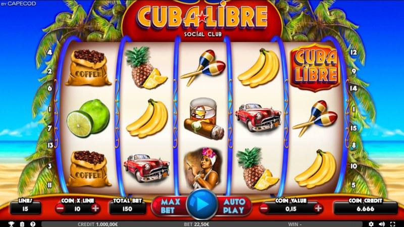 Cuba Libre :: Main Game Board