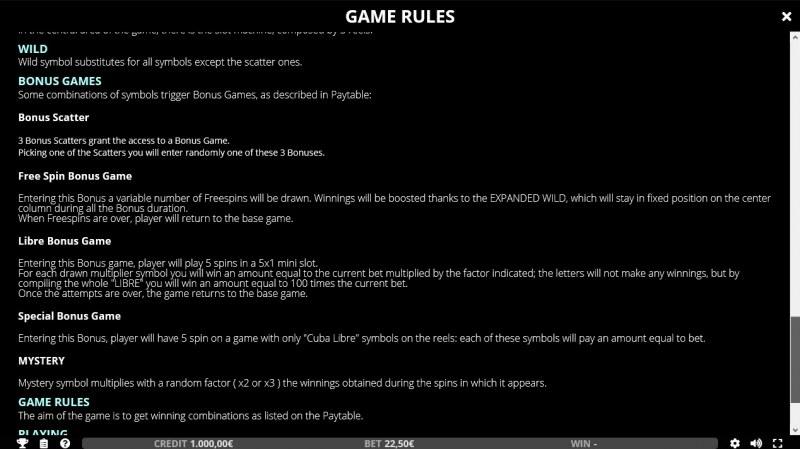 Cuba Libre :: General Game Rules