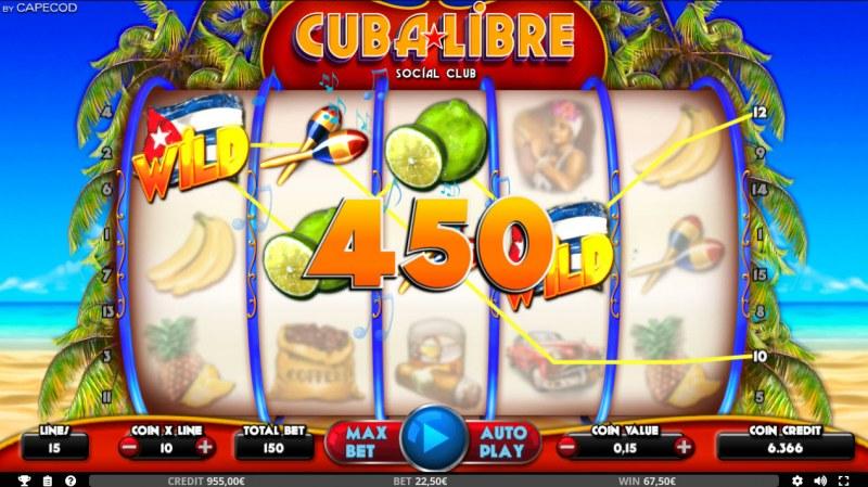Cuba Libre :: Four of a kind