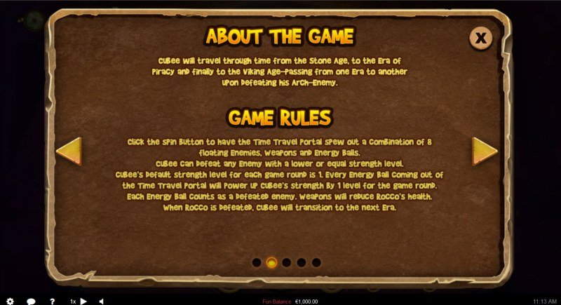 Cubee Time Travel Adventure :: General Game Rules