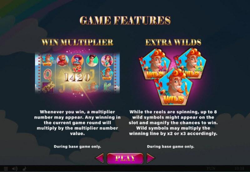 Cupids' Strike II :: Feature Rules