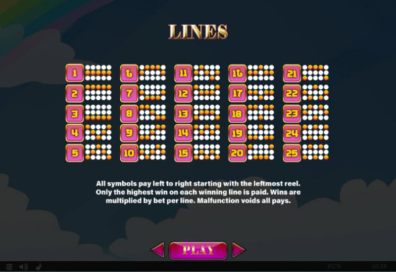 Cupids' Strike II :: Paylines 1-30