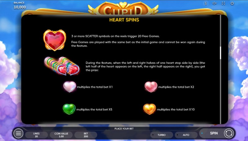 Cupid :: Feature Rules