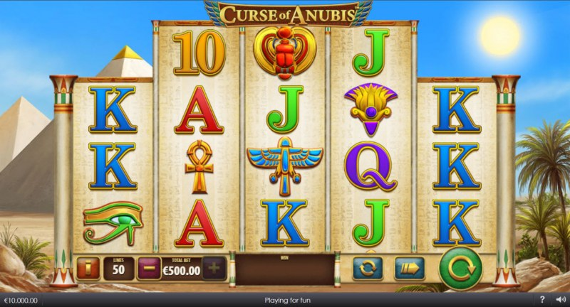 Curse of Anubis :: Main Game Board