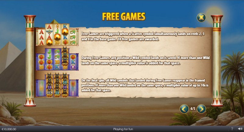 Curse of Anubis :: Free Game Rules