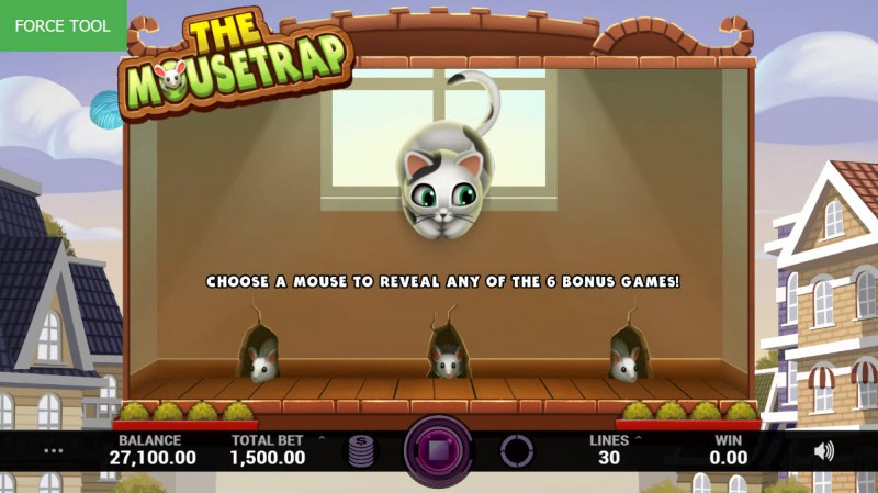 Cutey Cats :: Bonus Pick Game Board