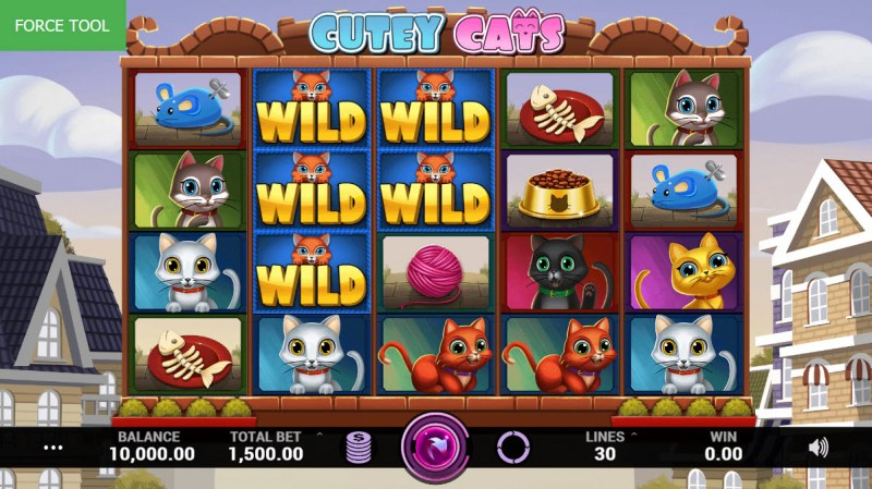 Cutey Cats :: Main Game Board