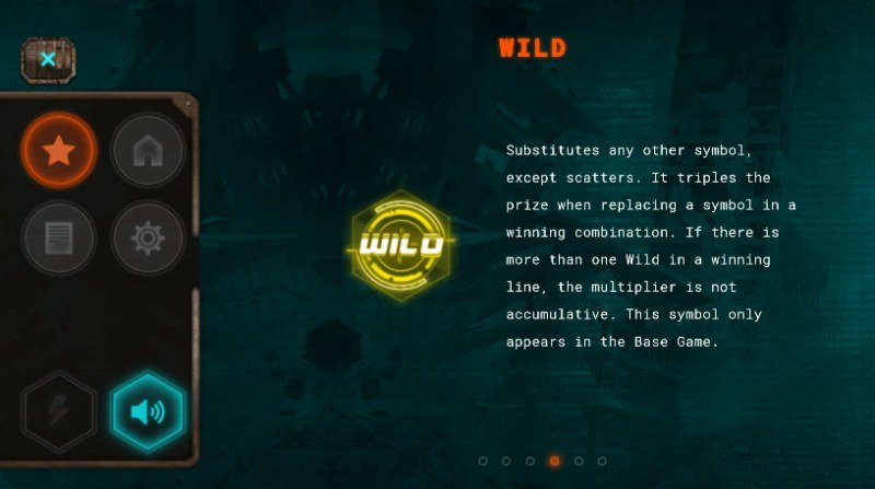 Cyberpunk Wars :: Wild Symbols Rules