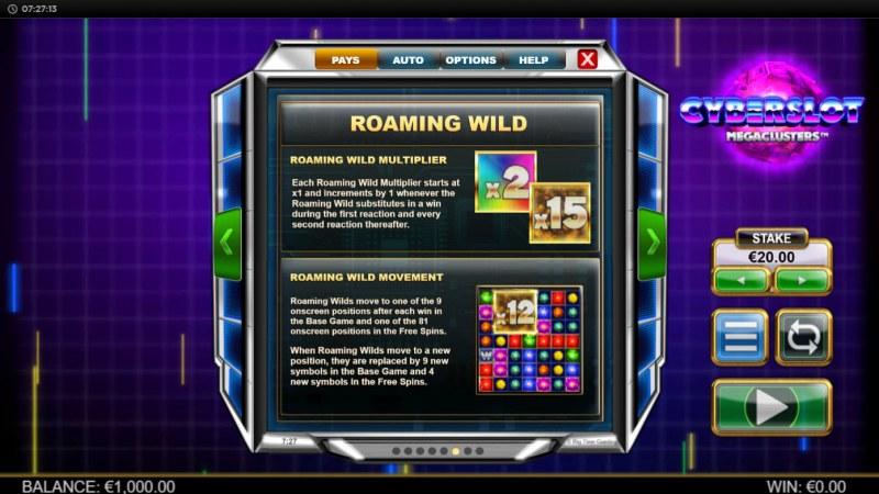 Cyberslot Megaways :: Roaming Wild