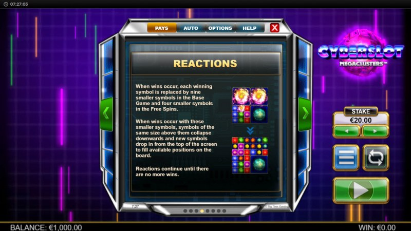 Cyberslot Megaways :: Reactions