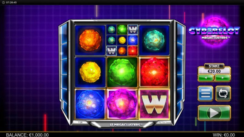 Cyberslot Megaways :: Main Game Board