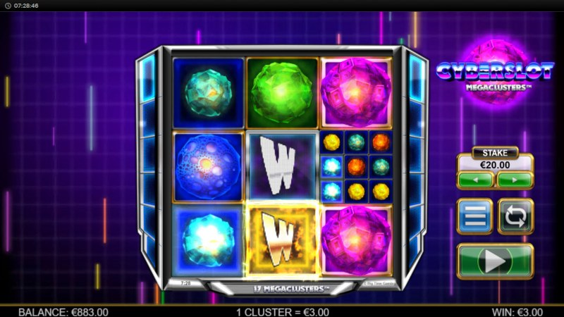 Cyberslot Megaways :: Multiple winning combinations