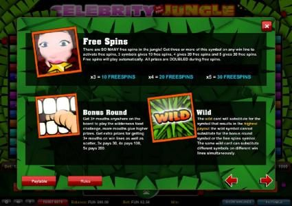 Argo featuring the Video Slots Celebrity in the Jungle with a maximum payout of $2,500