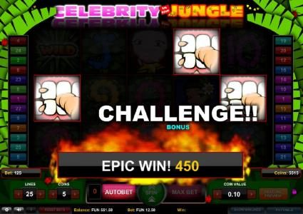 6 Black featuring the Video Slots Celebrity in the Jungle with a maximum payout of $2,500