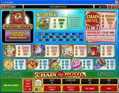 Play slots at Slot Planet: Slot Planet featuring the Video Slots Chain Mail with a maximum payout of $7,500