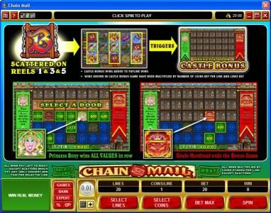 Casino Splendido featuring the Video Slots Chain Mail with a maximum payout of $7,500
