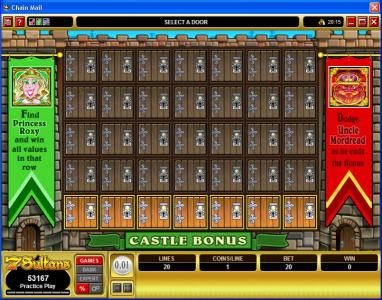 Shadowbet featuring the Video Slots Chain Mail with a maximum payout of $7,500