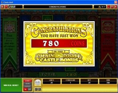 Play slots at Mongoose Casino: Mongoose Casino featuring the Video Slots Chain Mail with a maximum payout of $7,500