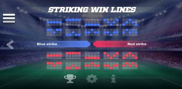 Casino Superlines featuring the Video Slots Champion's Goal with a maximum payout of $200,000