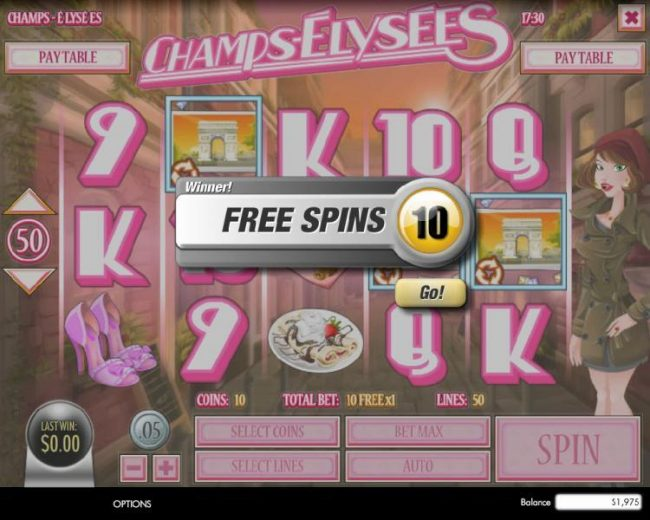 Play slots at Box24: Box24 featuring the Video Slots Champs-Elysees with a maximum payout of $4,000