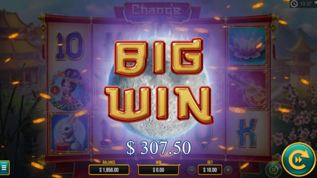 Play slots at Lapalingo: Lapalingo featuring the Video Slots Chang'e Goddess of the Moon with a maximum payout of $10,000