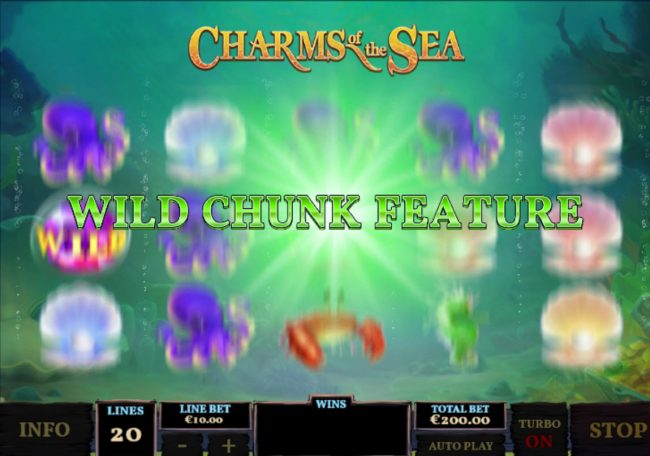Play slots at Club 777: Club 777 featuring the Video Slots Charms of the Sea with a maximum payout of $5,000,000
