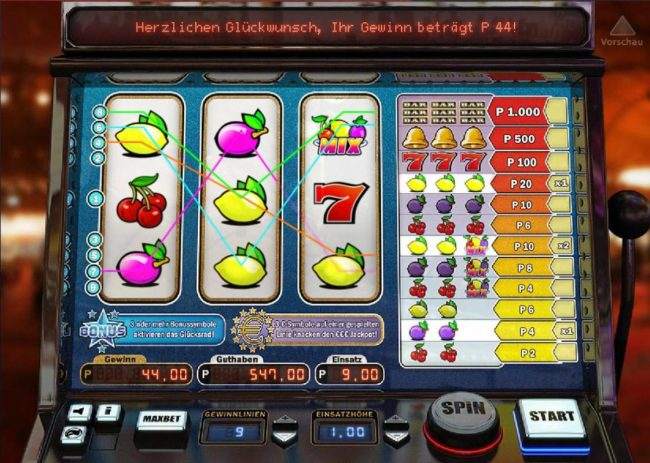 Bet At Casino featuring the Video Slots Cherry Star with a maximum payout of $1,000