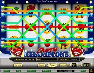 Celtic featuring the Video Slots Cherry Champions with a maximum payout of $400