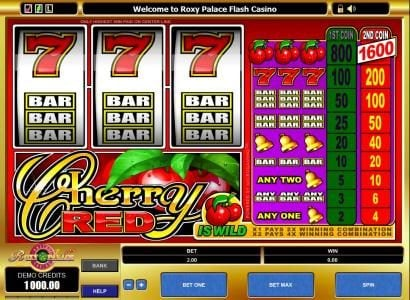 Play slots at Sun Play: Sun Play featuring the Video Slots Cherry Red with a maximum payout of $16,000