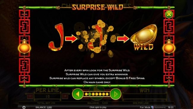 Superior featuring the Video Slots Chest of Fortunes with a maximum payout of $100,000